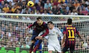 Gareth Bale, Barcelona v Real Madrid
