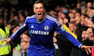 Chelsea's Fernando Torres scored a late winner in the 2-1 victory over Manchester City on Sunday