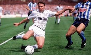 Clive Allen of Tottenham Hotspur.