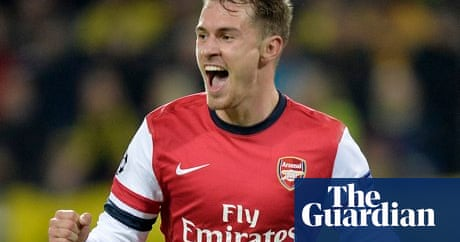Arsenals Aaron Ramsey Schooled At Cardiff City To Be Top Of Class