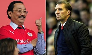 Vincent Tan and Brendan Rodgers