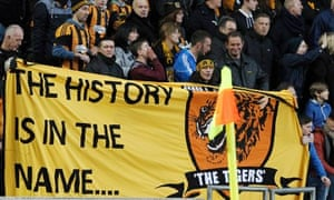 Hull City's fans made their feelings known about any rebranding during the 3-1 win over Liverpool
