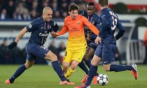 PSG v Barcelona: tactical analysis | Michael Cox ...