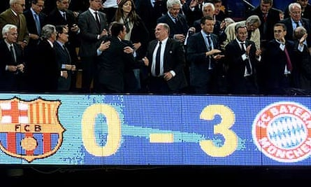 Barcelona Where Do They Go From Here After This Humiliating Exit Barcelona The Guardian