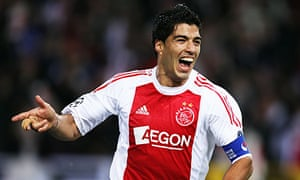 lowest price daf96 5f433 Luis Suárez's history in Holland haunts Liverpool as Arsenal ...