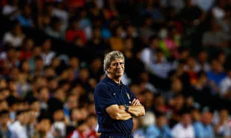 Manchester City's Manuel Pellegrini
