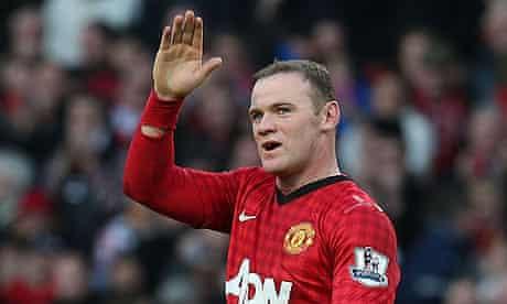 Wayne Rooney  Manchester United v Norwich City - Premier League
