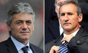 Spurs and Manchester City have been decisive in the transfer market thanks to Franco Baldini, left a