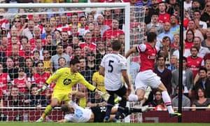 Olivier Giroud, Arsenal v Spurs