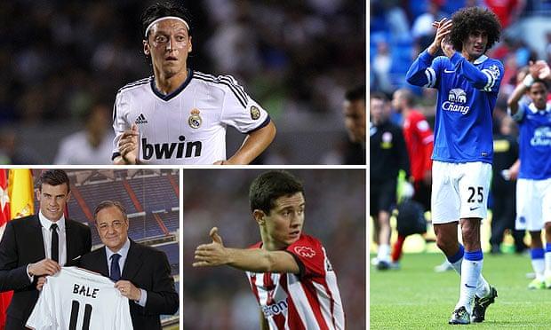 4cc81f84f Transfer deadline day 2013 (Arsenal sign Ozil and Fellaini joins Man Utd) –  as it happened