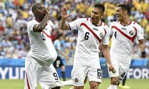 Uruguay v Costa Rica. World Cup