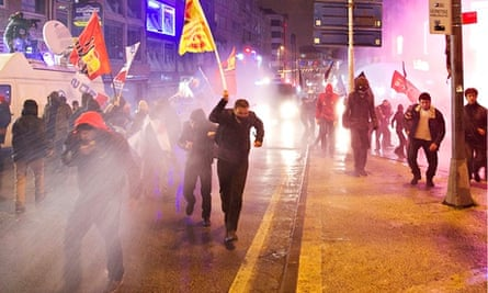 There have been protests and unrest in Istanbul over the past few days