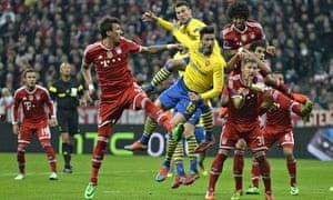 Bayern Munich v Arsenal