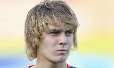 (FILE) Barcelona Confirm Signing Of 17 Year Old Alen Halilovic