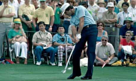Seve Ballesteros During The US Masters