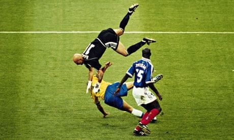 25591ee1a World Cup stunning moments  Ronaldo falters as France win