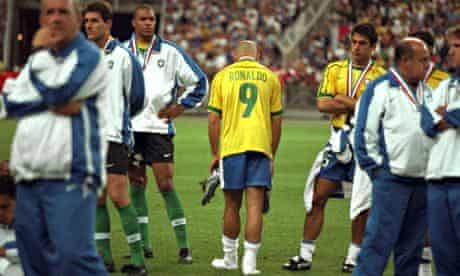 There were wild conspiracy theories after the game about why Ronaldo was not substituted in Brazil's 3-0 defeat.