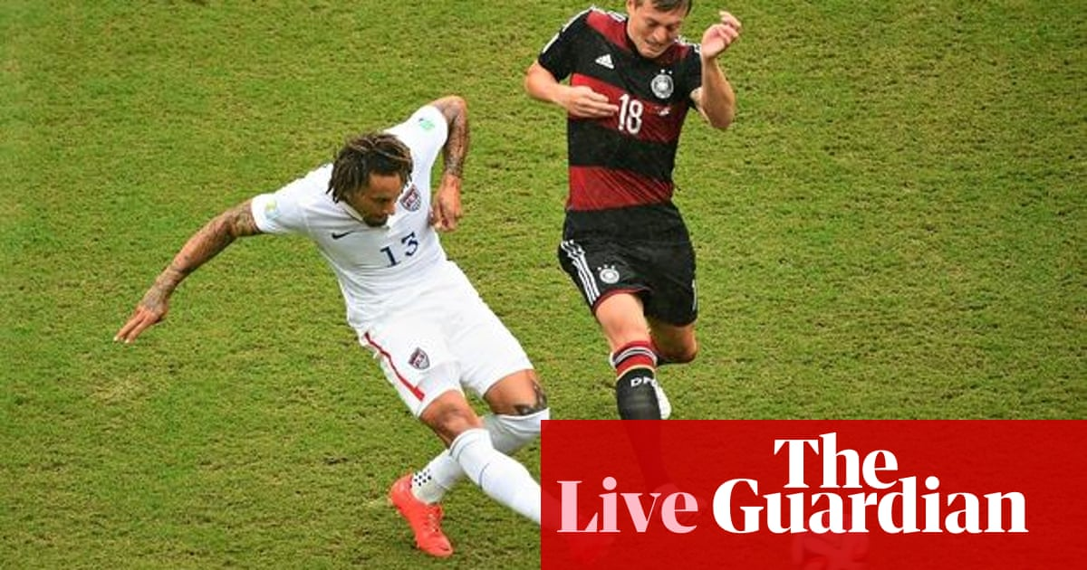 0e4518fa6 USA v Germany: World Cup 2014 – as it happened | Graham Parker | Football |  The Guardian