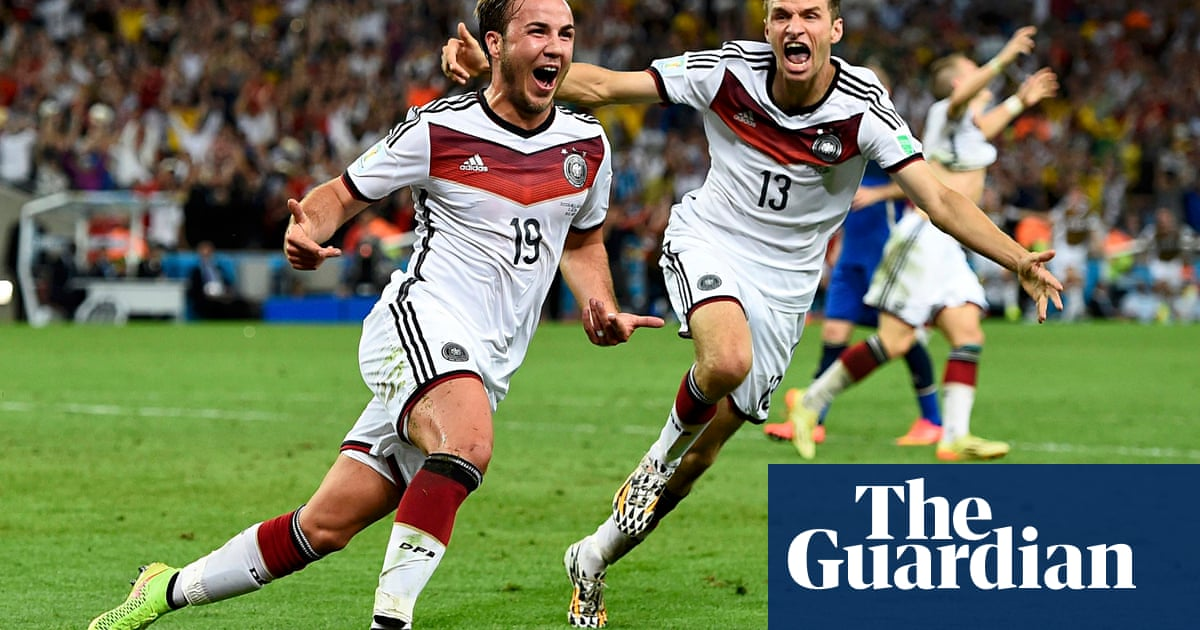 199b01288a6 Germany beat Argentina to win World Cup final with late Mario Götze goal. •  The ...