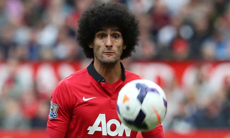 Marouane Fellaini joined Manchester United from Everton for £27.5m in September 2013