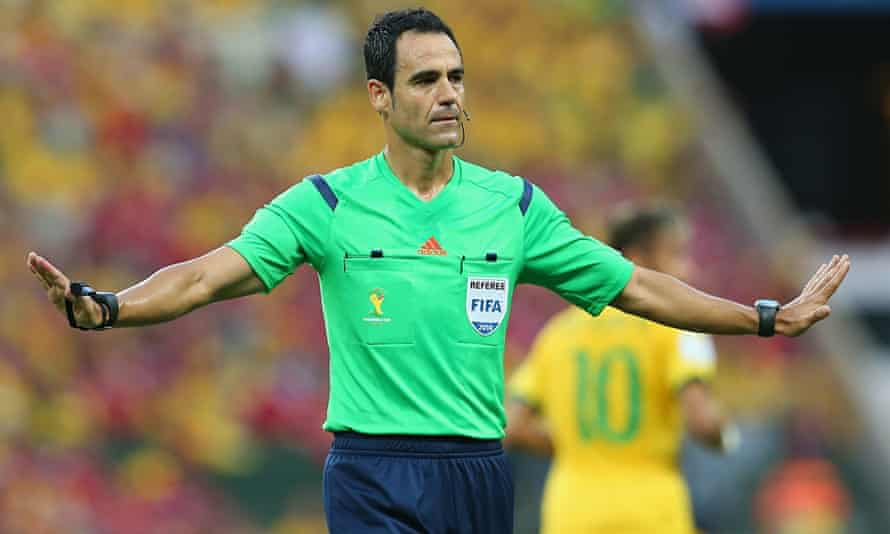Brazil v Colombia, Carlos Velasco Carballo
