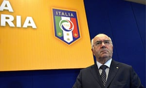 Carlo Tavecchio became the Italian Football Federation president with 63.63% of vote