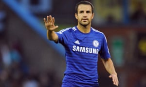Cesc Fábregas was linked with Manchester United and his former club Arsenal before joining Chelsea