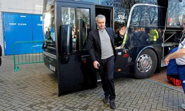 Park the bus is phrase José  Mourinho helped to popularise but is now a stick with which to beat him