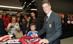 Fernando Torres joined Milan on a two-year loan deal from Chelsea