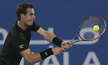 Andy Murray was the first winner of the Mubadala World Tennis Championship in 2009