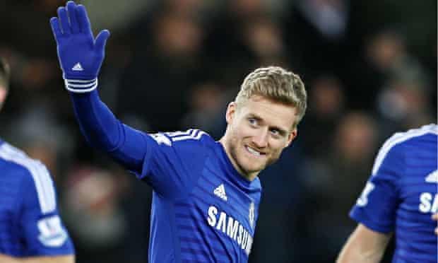 Chelsea's Andre Schurrle