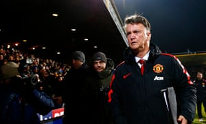 Louis van Gaal felt the pitch was one aspect that went against Manchester United at Cambridge