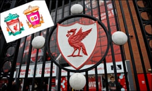 Liverpool FC Dunkin' Donuts crest redesign