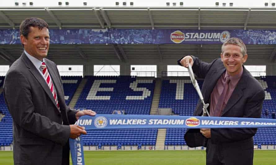 The Football Association's new chief executive, Martin Glenn, left, has the backing of Gary Lineker