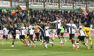 Parma's players