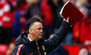 Louis van Gaal's tactics have led Manchester United to five straight Premier League wins