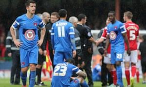 Leyton Orient players