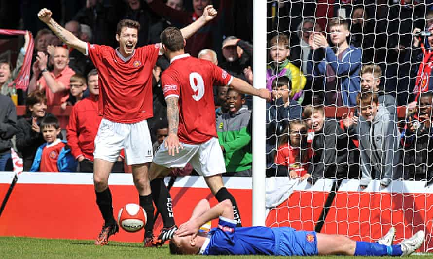 FC United of Manchester won promotion to the Conference North this season