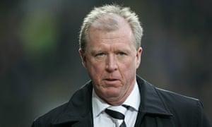 Steve McClaren was sacked as manager of Derby County on Monday