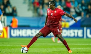Portugal's William Carvalho has covered more ground than any 2015 European U21 Championship player