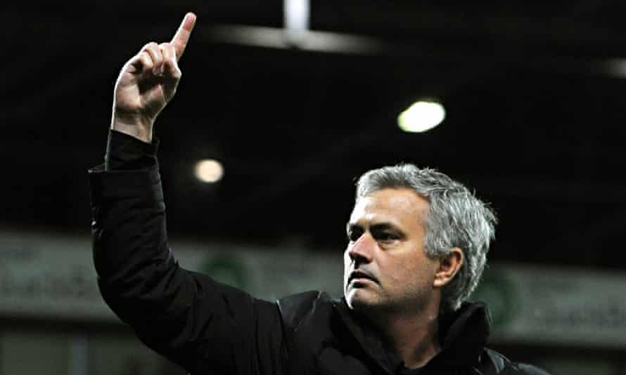 Chelsea's José Mourinho believes he may have missed out on being voted No1 coach when at Real Madrid