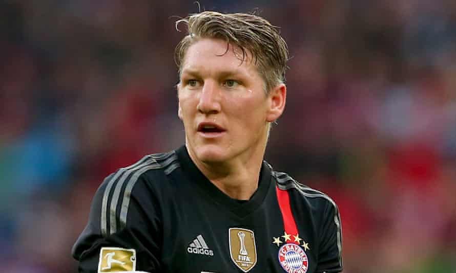 Bastian Schweinsteiger played under Louis van Gaal at Bayern Munich from 2009 to 2011