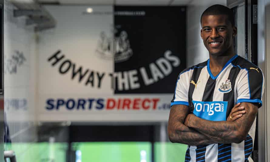 Georginio Wijnaldum 'wants to play as soon as possible' after joining Newcastle from PSV Eindhoven