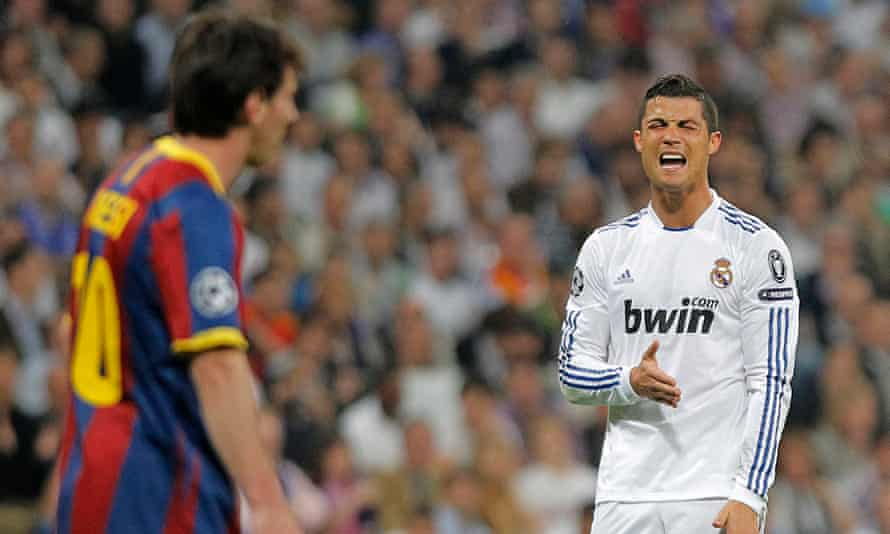 Lionel Messi and Cristiano Ronaldo have dominated the world player of the year awards