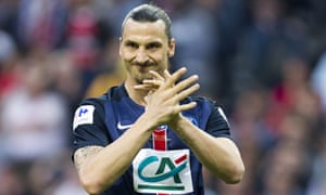 Paris Saint-Germain's Zlatan Ibrahimovic will face the club where he started his career, Malmo