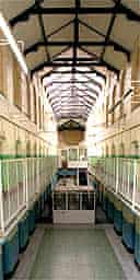 An empty prison