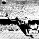 Juan Alberto Schiaffino scores Uruguay's first
