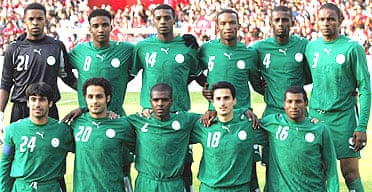 Saudi Arabia team photo