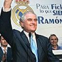 Ramon Calderon wins the Real Madrid presidential election