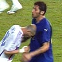 Zinedine Zidane and Marco Materazzi